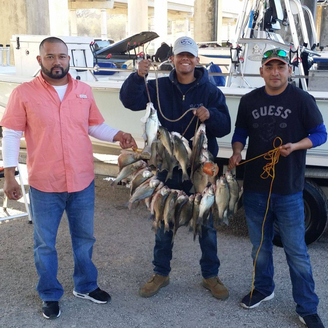 Choke Canyon Lake, Nueces River Fishing