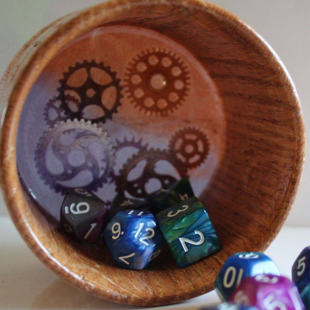 dice cups, gamers gear,