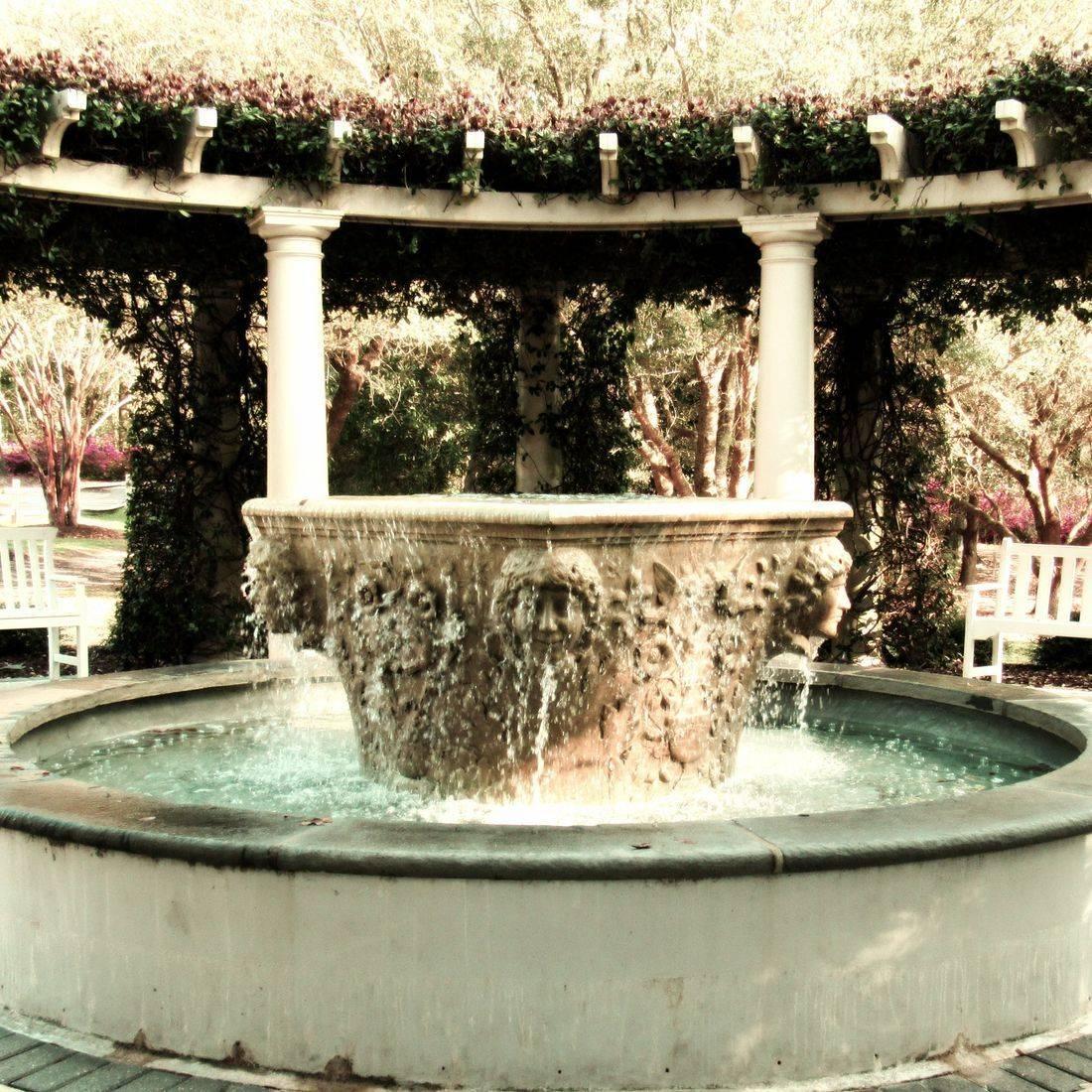 Fountain, Stone, Statue
