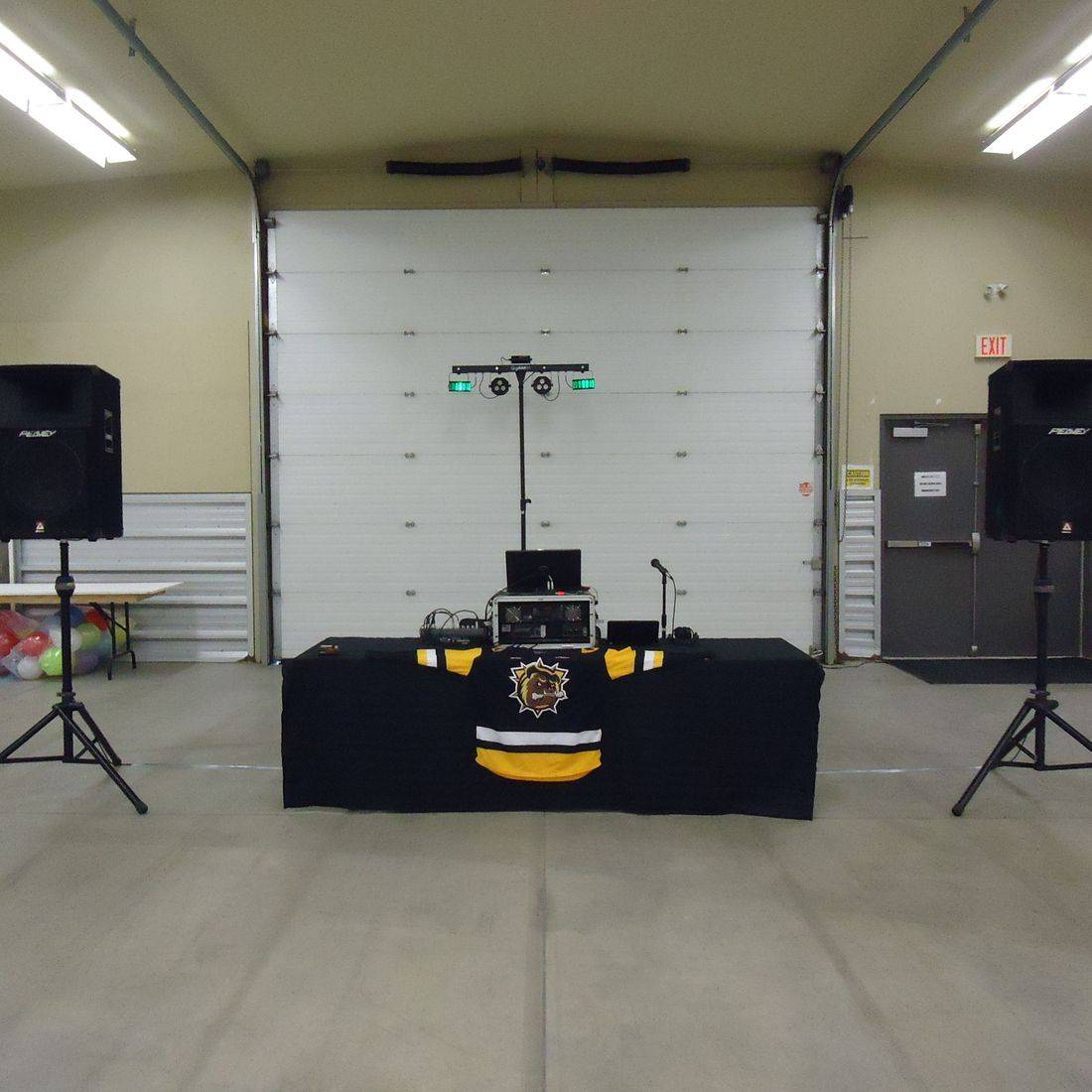 Mr. Productions DJ Service at the Ancaster Fairgrounds