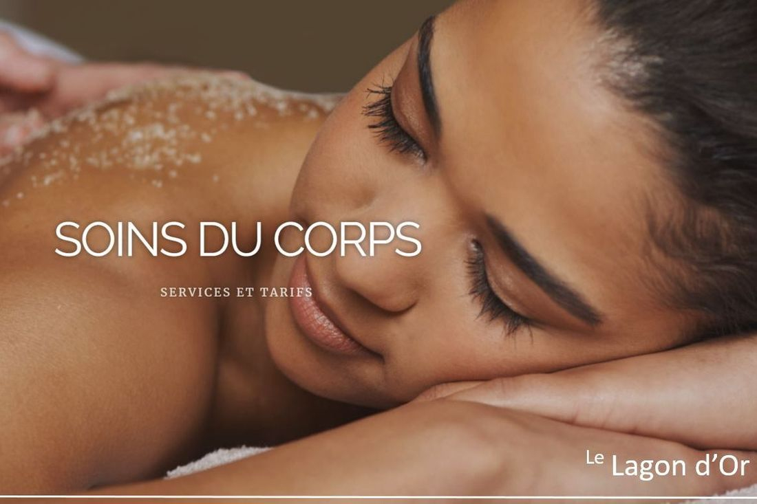 Esthétique esthetics estheticienne  gatineau soin du corp soin du dos massage cellulite back le lagon d'or lelagondor