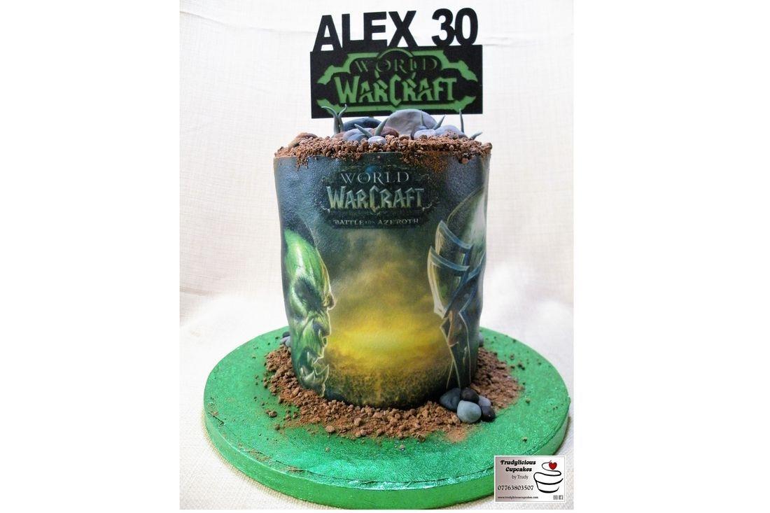 World of WarCraft Cake
