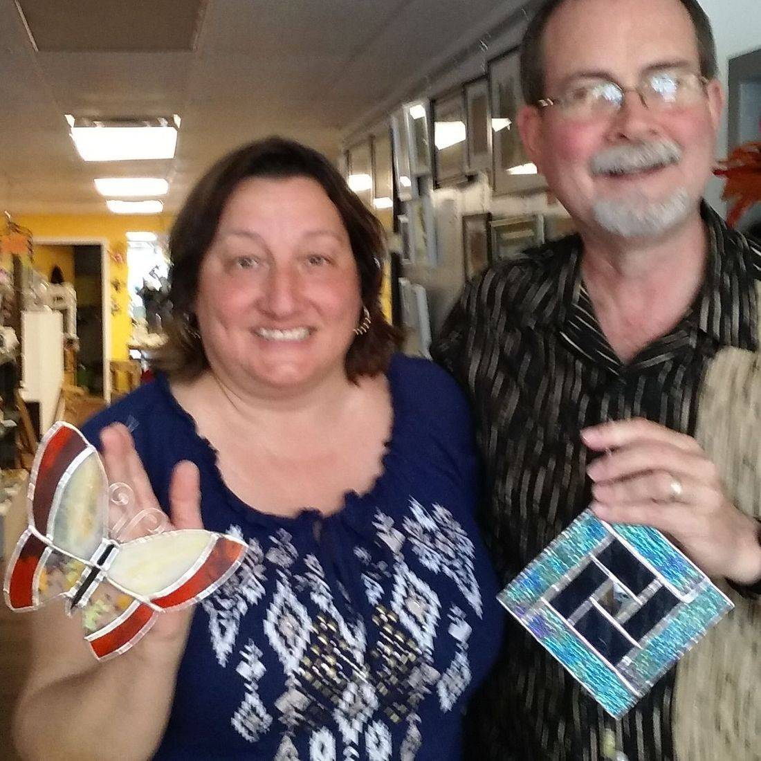 Couples Introduction Stained Glass Class