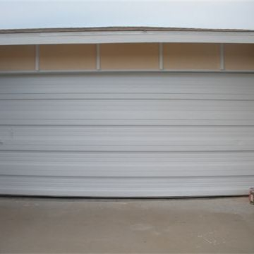 After- Garage Door