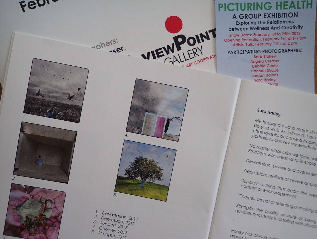 Picturing Health Exhibit, Viewpoint Gallery, Feb 2018