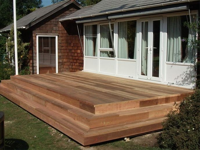 CEDARWOOD DECKING CAMBRIDGESHIRE