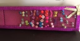 dream free art, easy, diy, earring holder, dollar tree, dollar store