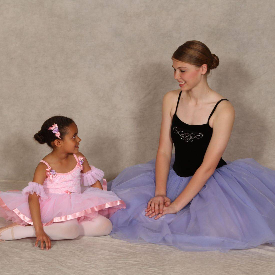 We love when one generation of north Spokane ballet dancers inspires another!