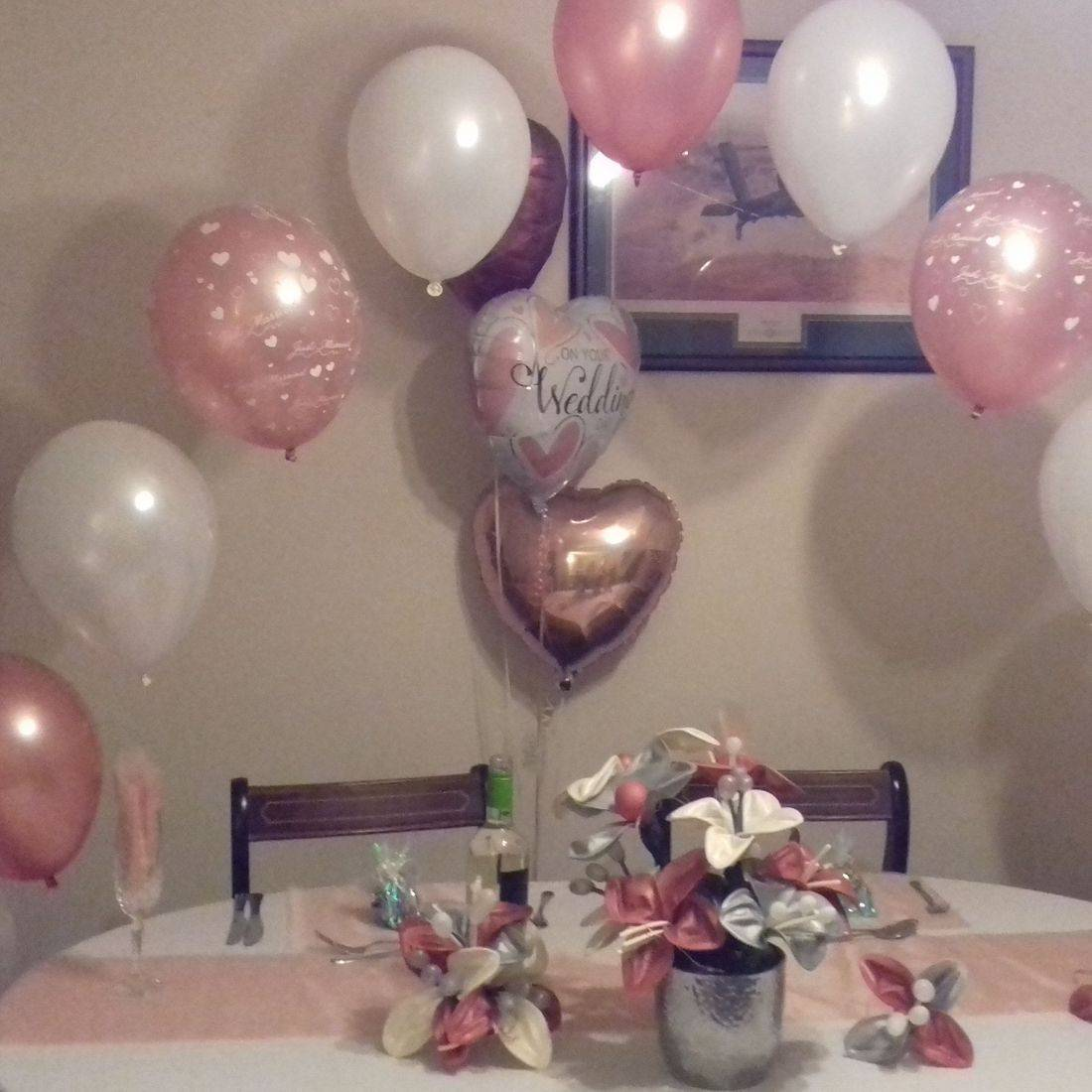 Wedding and party balloons