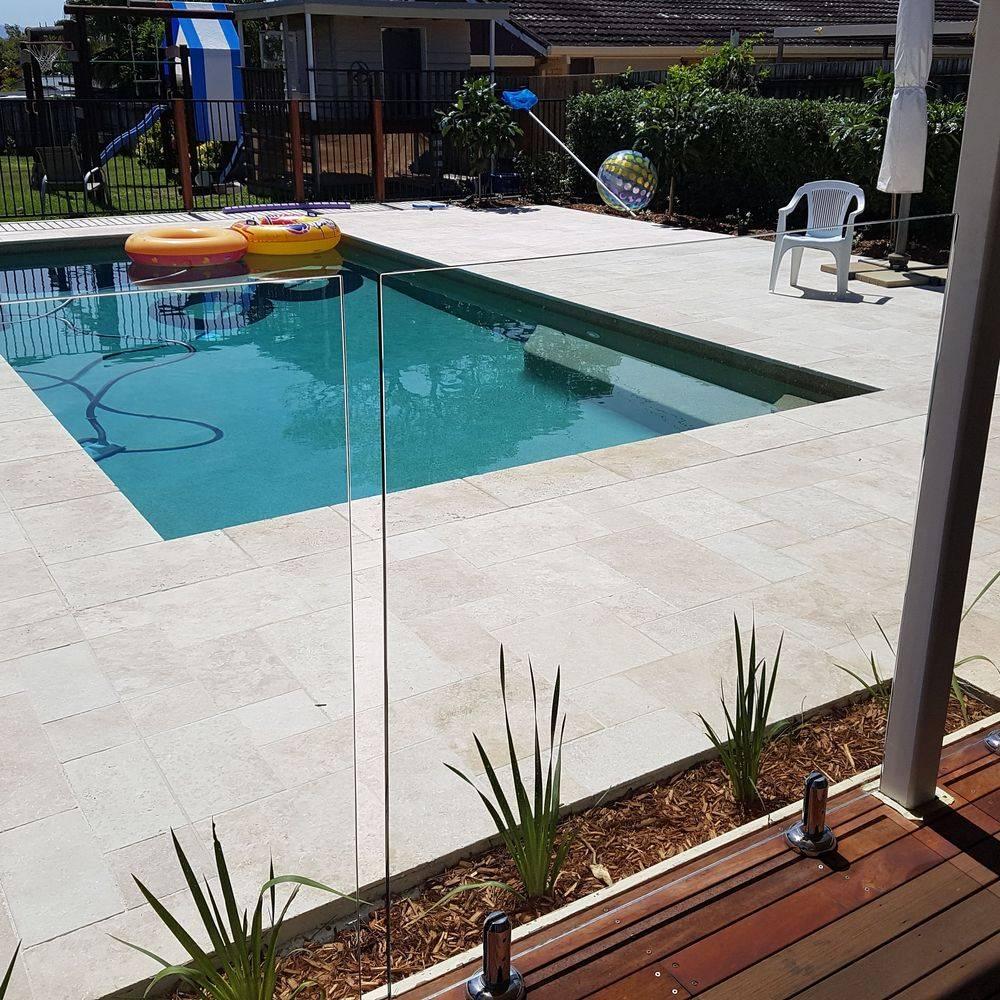 glass pool fence gold coast