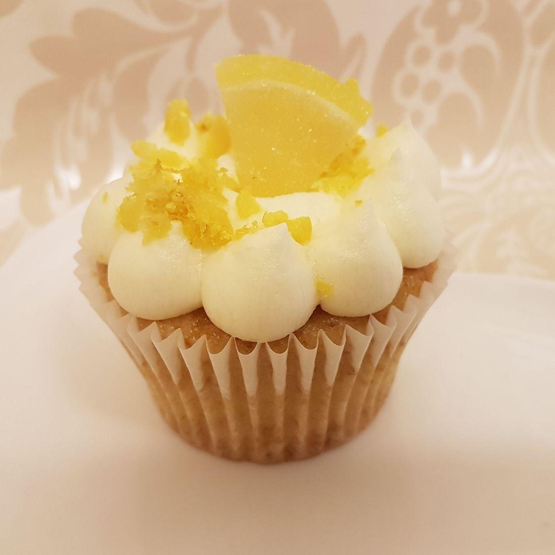 Vegan gluten free Lemon Cupcake