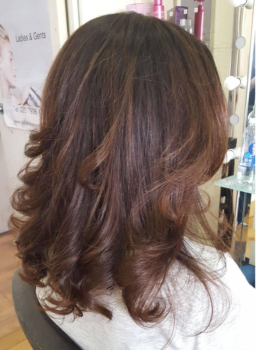 Curly Blow Dry Tottenham Hair Studio Hairdresser Mobile