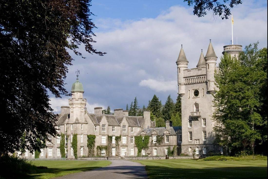 Balmoral castle part of our balmoral tour day
