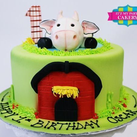 Custom Stuffed cow toy  Cake Milwaukee