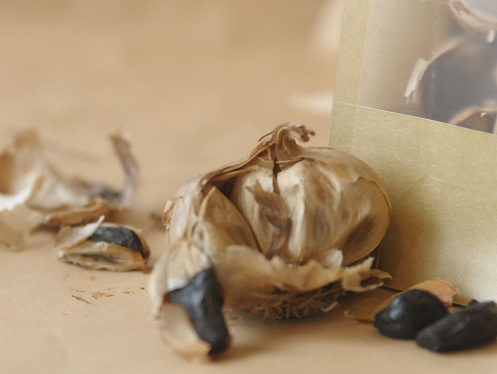 west clare black garlic by naked forager