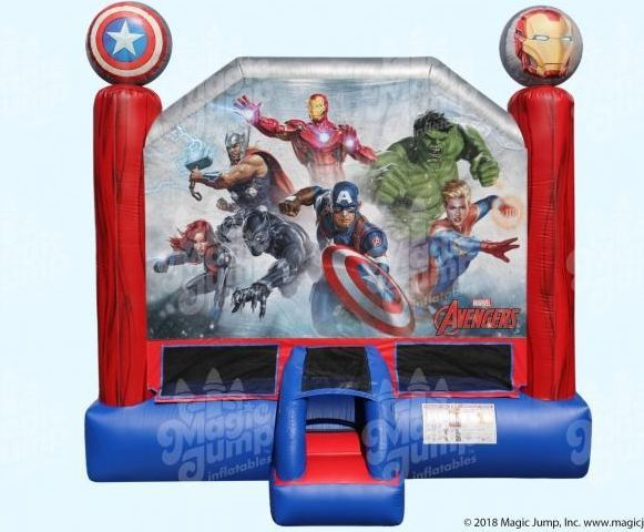 Marvel Avengers Bounce House 15