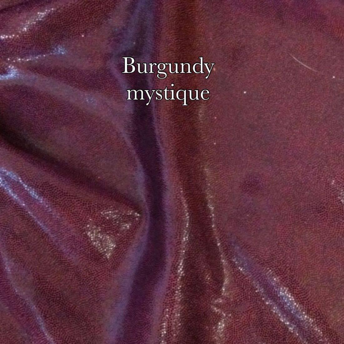 Burgundy mystique