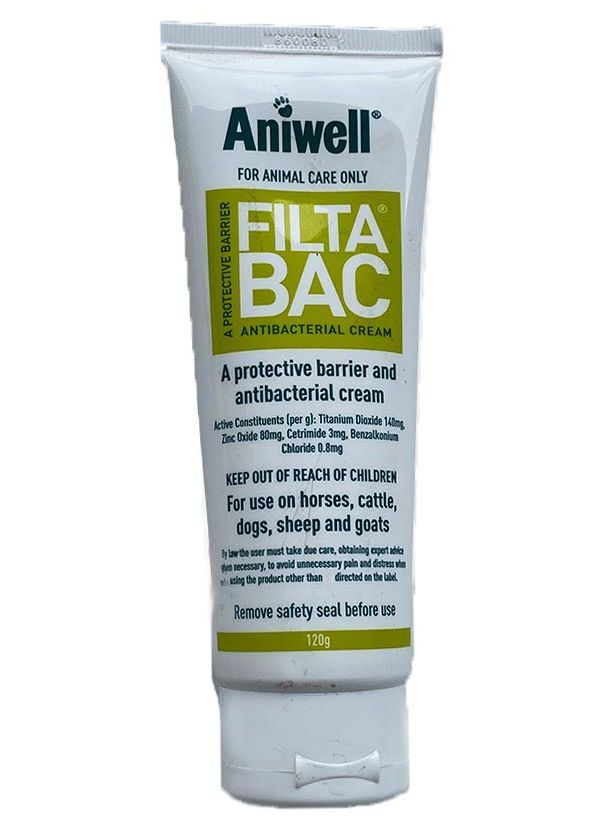 Filtabac Antibacterial Cream for animal wounds