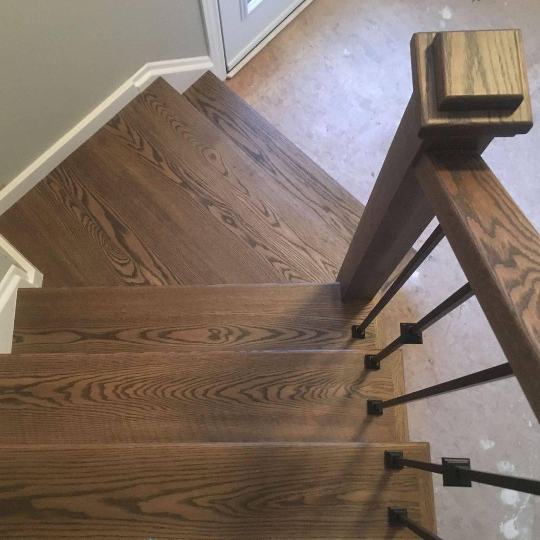 Guelph Oak Stair Reface
