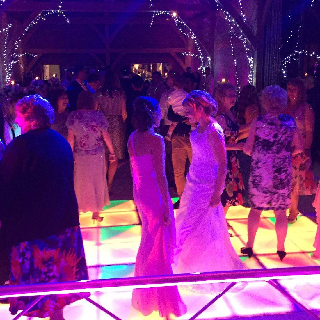 LED Starlit Dancefloor Stourbridge led Dancefloor Hire