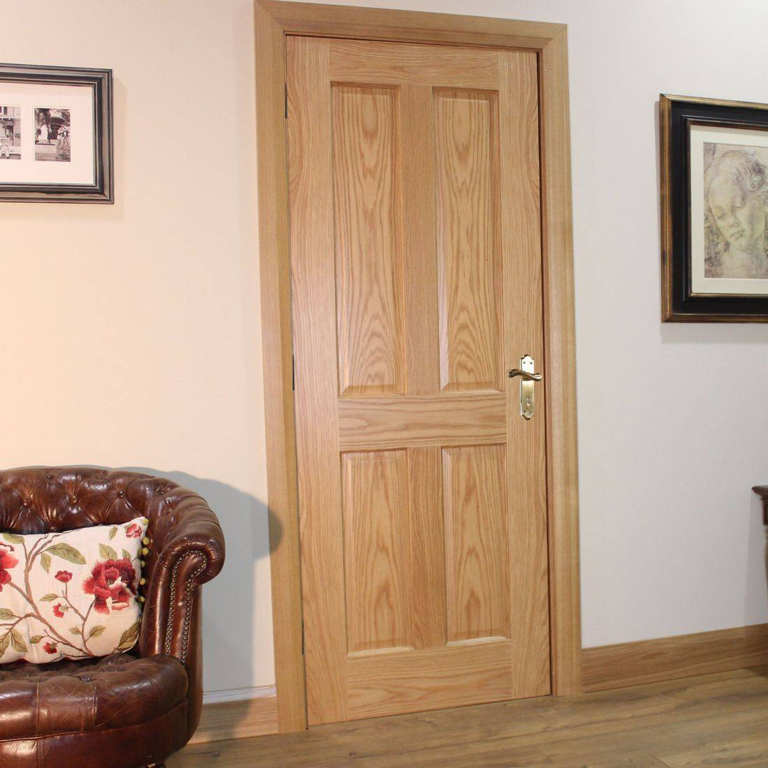 Seadec Kingscourt Oak 4 Panel