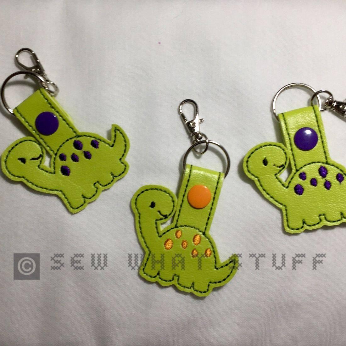 Dinosaur Key Tag/Zipper Pull