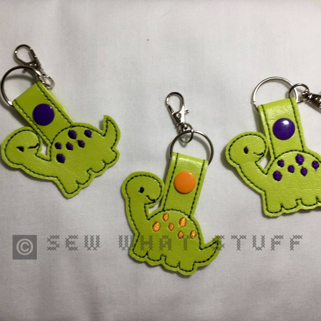 Dinosaur Key Tag/Zipper Pull