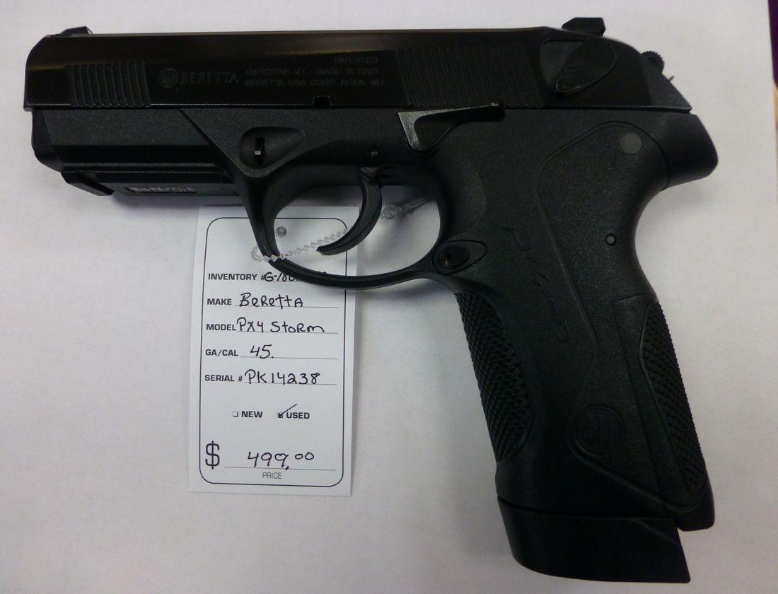 45 Caliber Beretta PX4 Storm Pistol