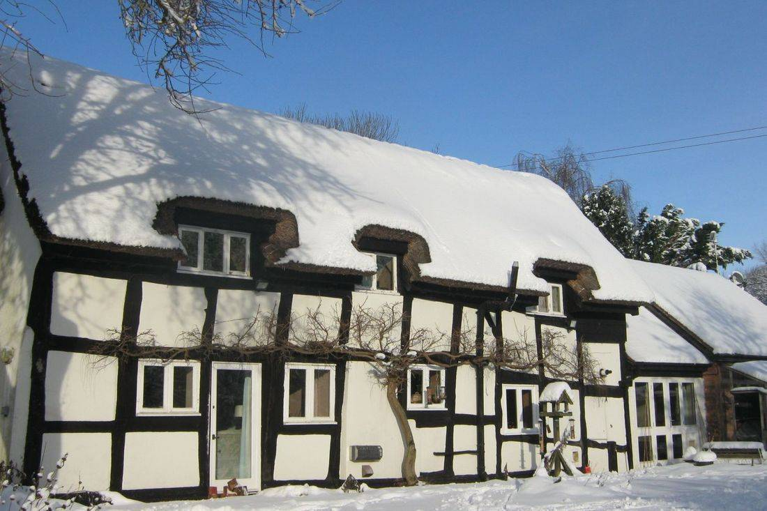 The Moats cottage bed and breakfast near Ledbury and Malvern