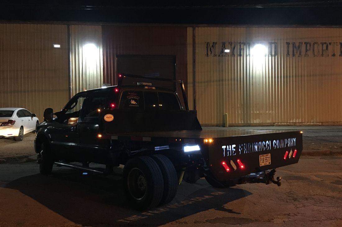 Steel Truck Flat Bed
