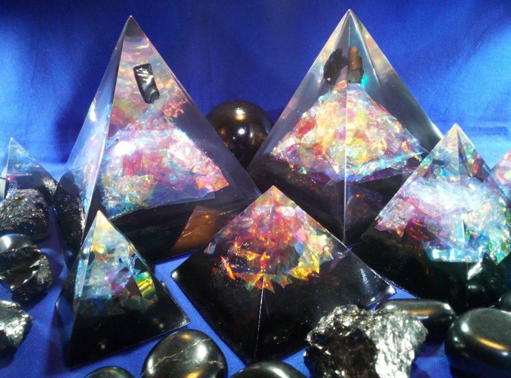 shungite Pyramids Oraphim