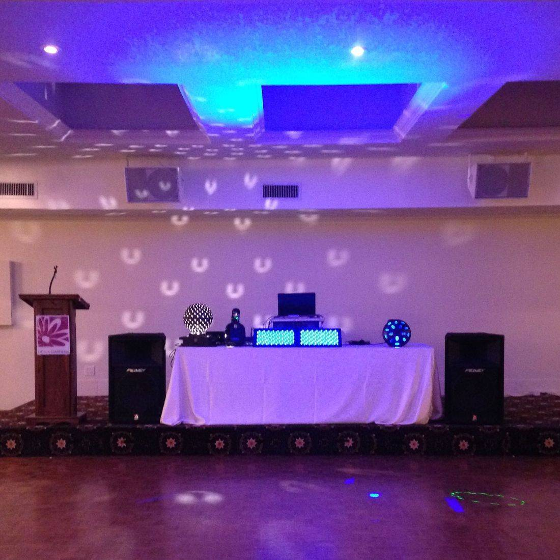 Mr. Productions DJ Service DJ'n a Christmas Party at Liuna Gardens in Stoney Creek.