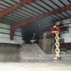Warehouse Pressure Washing Mobile Alabama