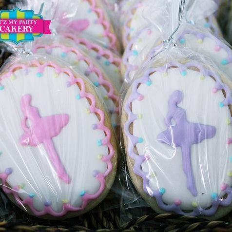 Ballet Dancing cookies Milwaukee