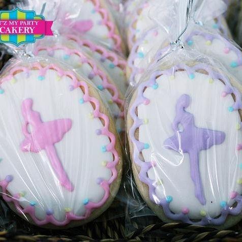 Ballet Dancing cookies Milwaukee