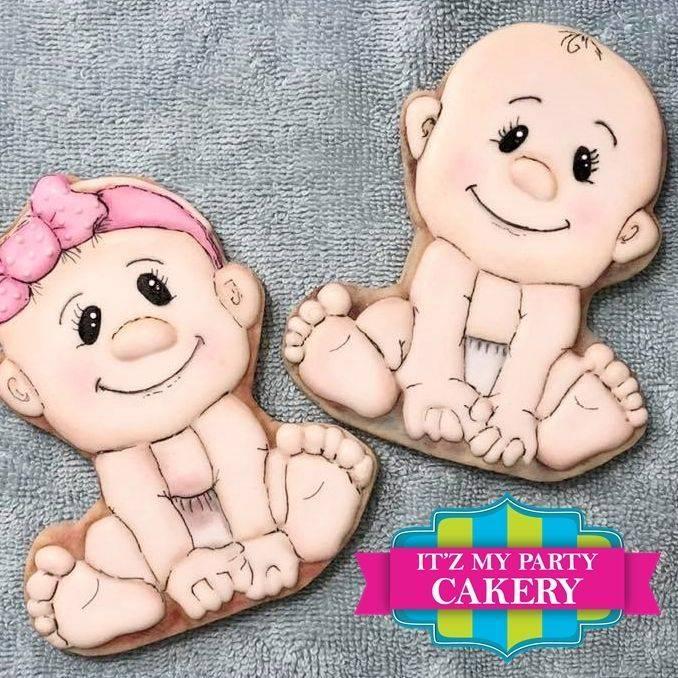 Baby Girl & Baby Boy Cookies Milwaukee