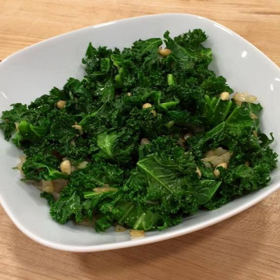 Kale Salad with Pine Nuts