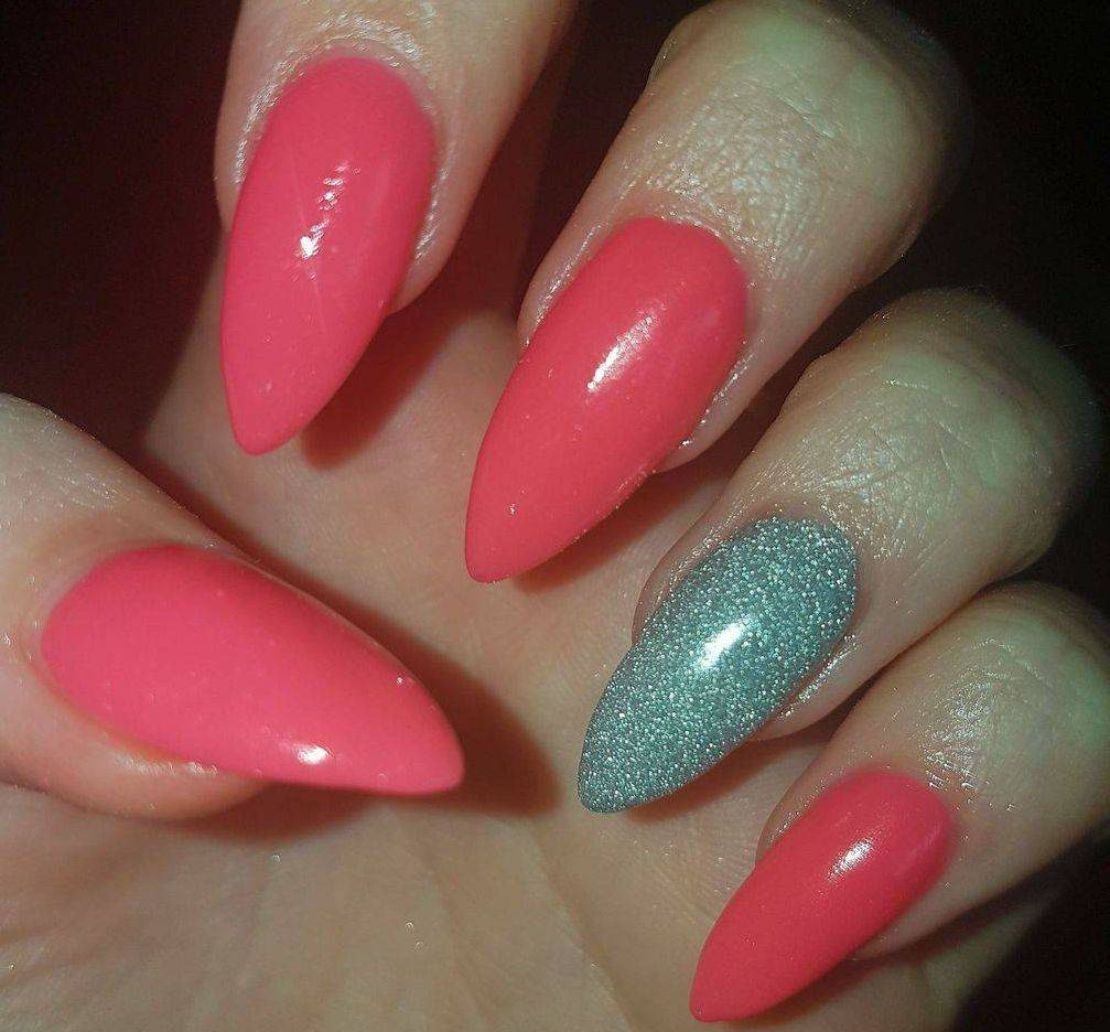 Nails after attending my Dip Nails Course