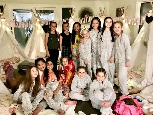 Teepee rentals, teepee rental, kids party rentals, kids teepee party rentals, kids birthday party, kids birthday parties, sleepover party, sleepover teepee party, kids party planner, party planner, Newport Beach, Orange County