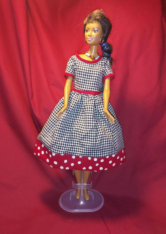 Barbie Dress, Barbie Clothes, Handmade Barbie Clothes