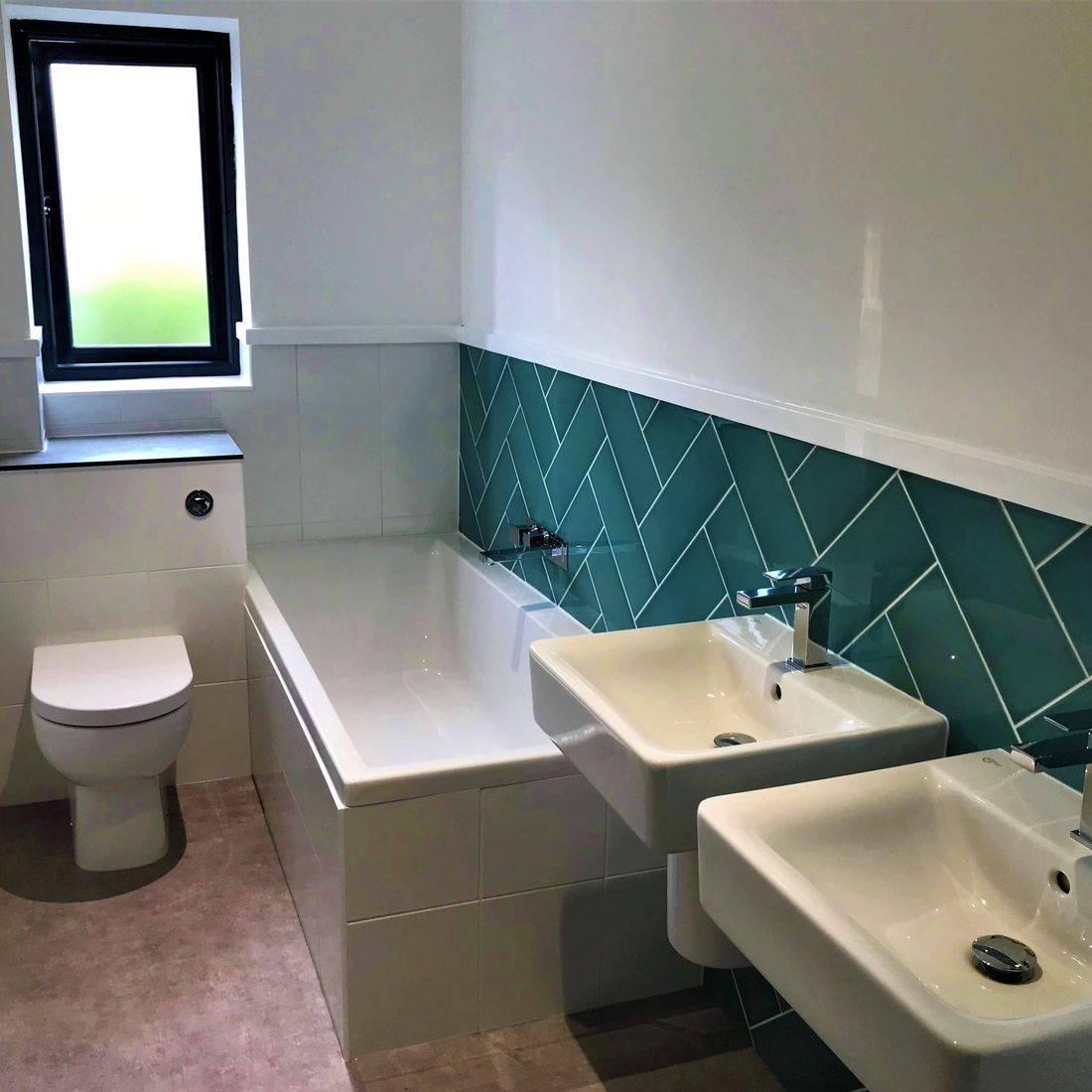 Painted Bathroom mwif.co.uk