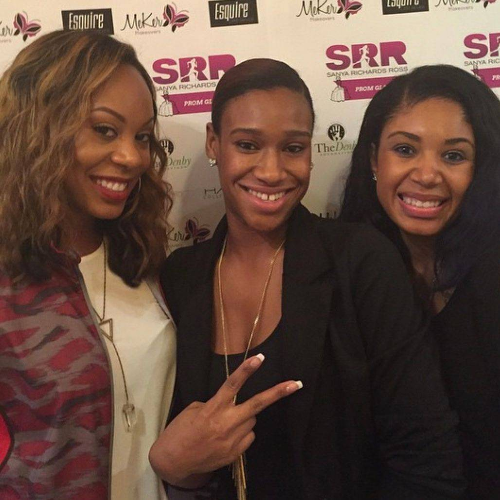 Owner Jessica Williams, w/ Sanya Richards-Ross*