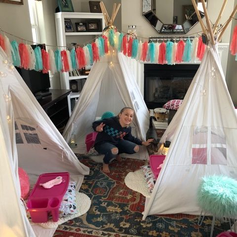 Kids party rentals, teepee rentals, party rentals, teepee party, teepee sleepover, kids birthday party, kids birthday parties, party planner kids party planner, Newport Beach, Orange County