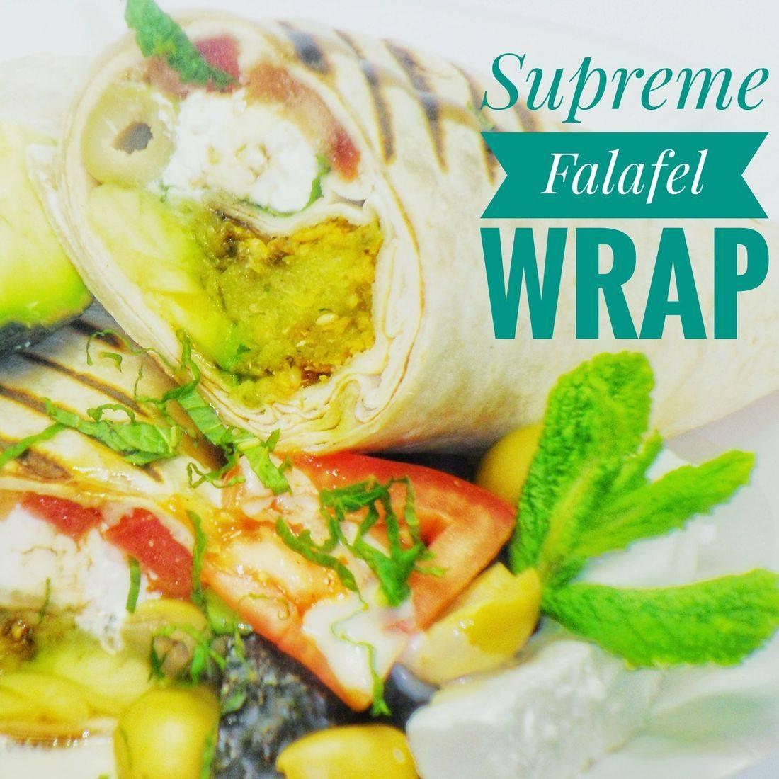 Supreme Falafel Wrap