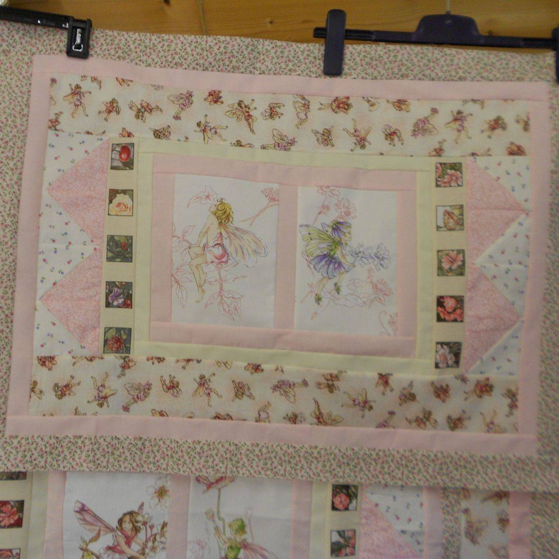Flower Fairy Pillow Sham