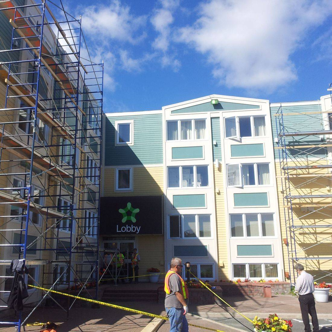 Siding installation, exterior painting, St. John's