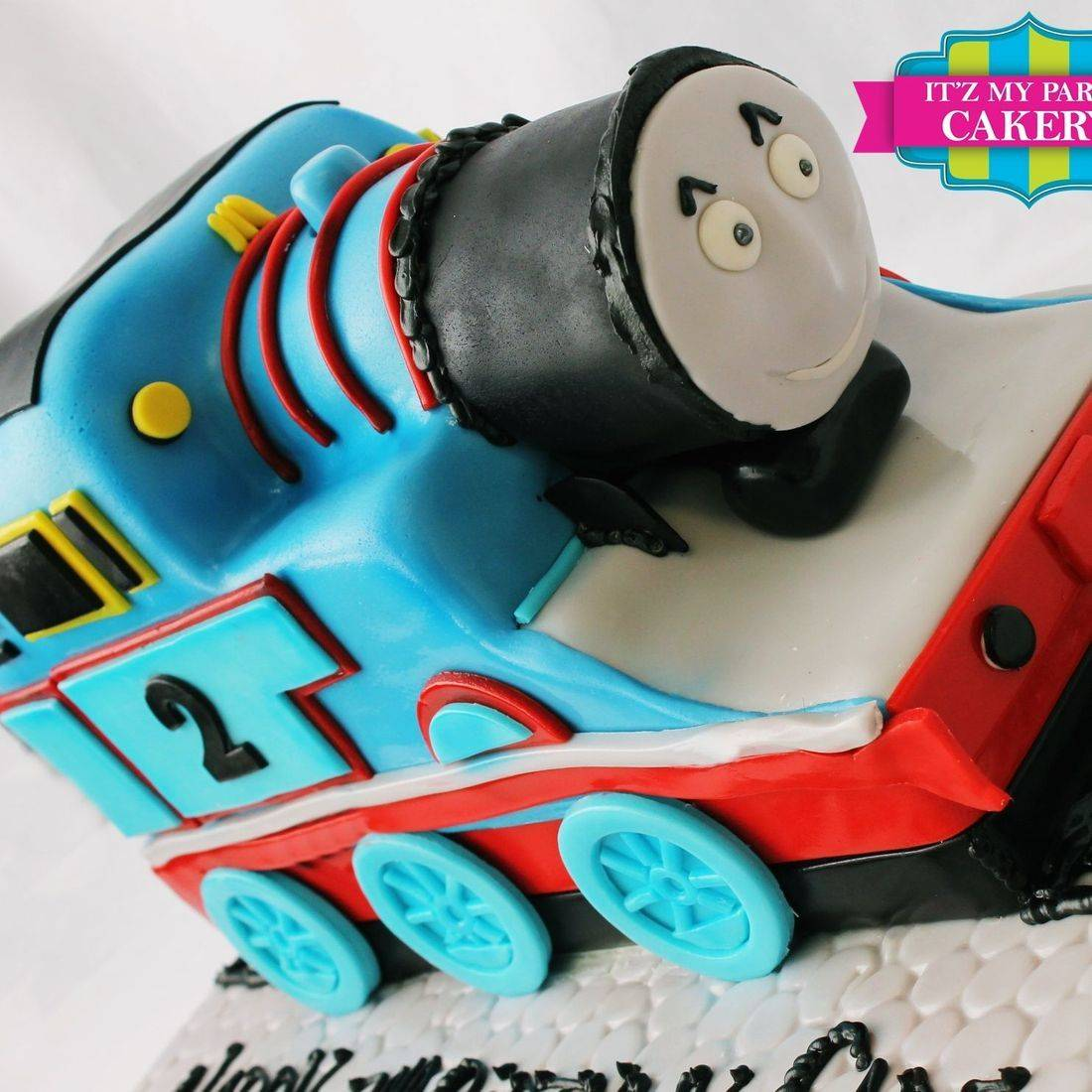 Thomas The Train Carved Dimensional Cake Milwaukee