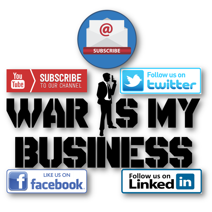 subscribe, follow, wimb, war is my business