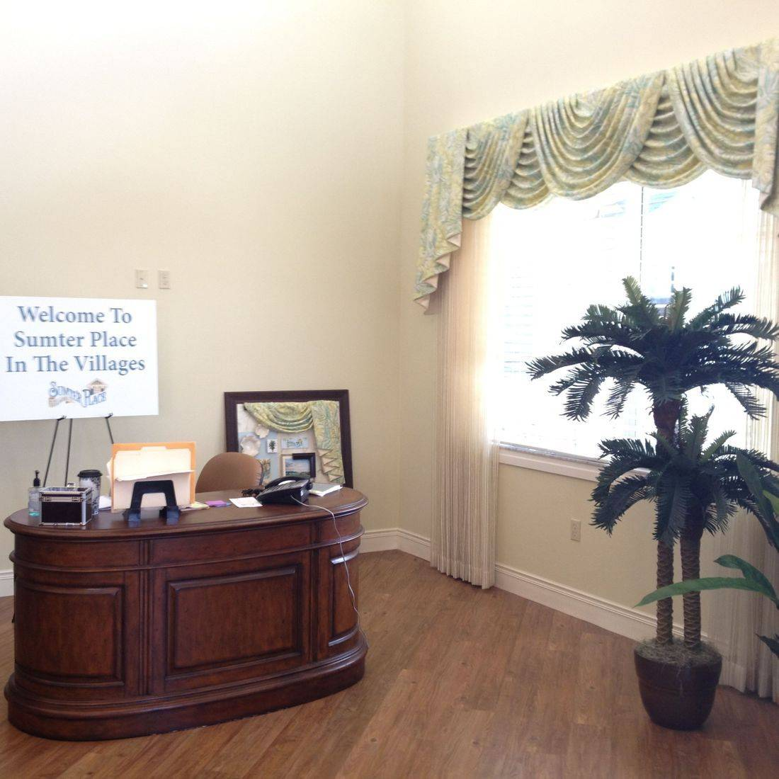 Entrance at Sumter Place by the Creative Design Team