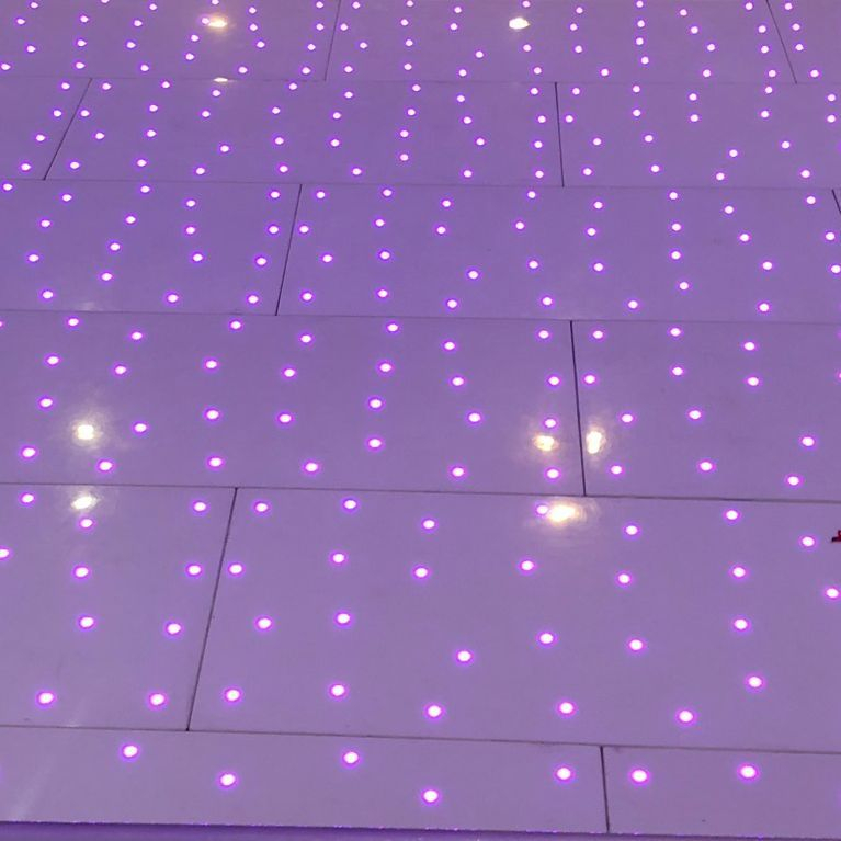 LED Dancefloor Led StarlitDanceflooR Hire  Wedding